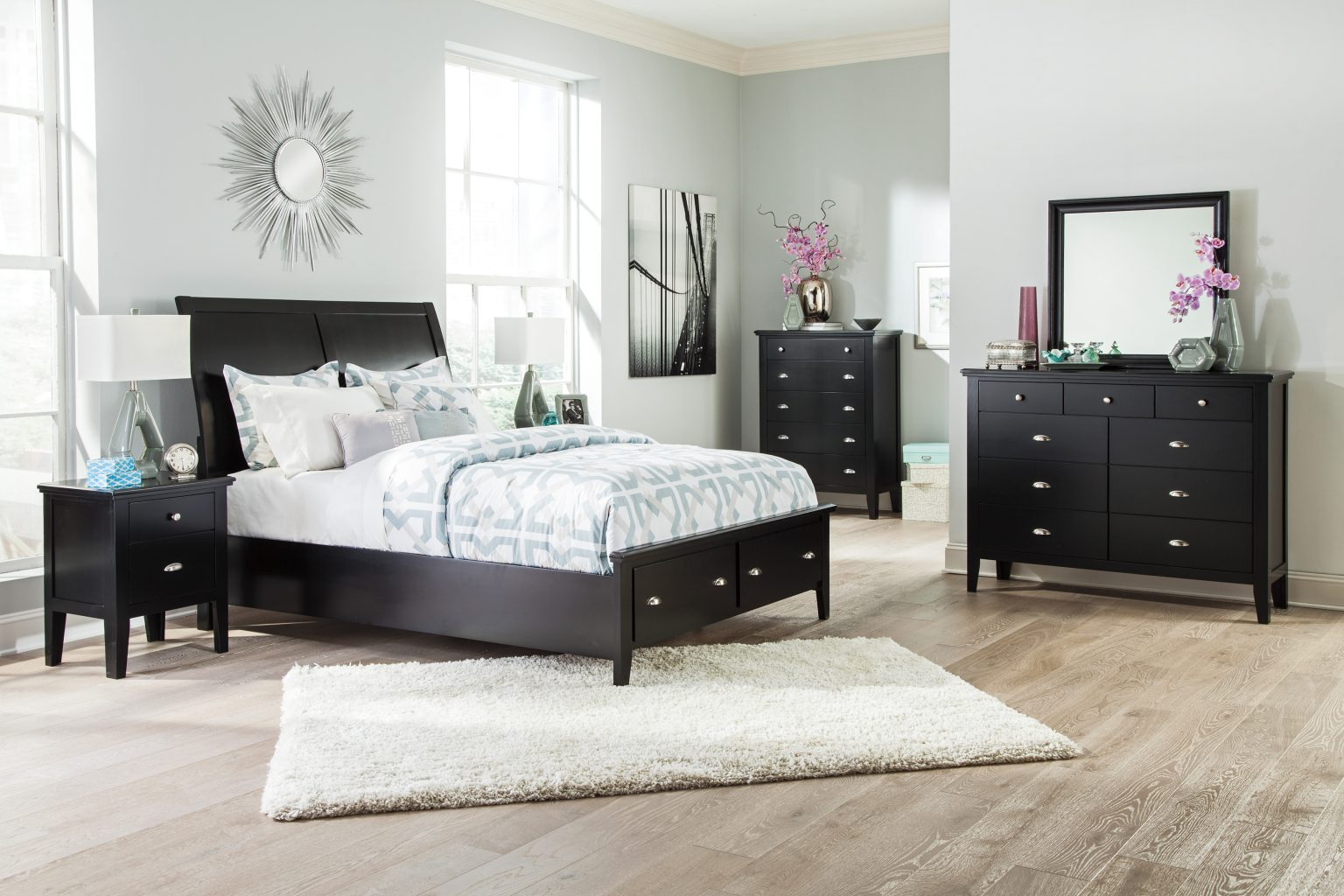 5 piece bedroom set braflin