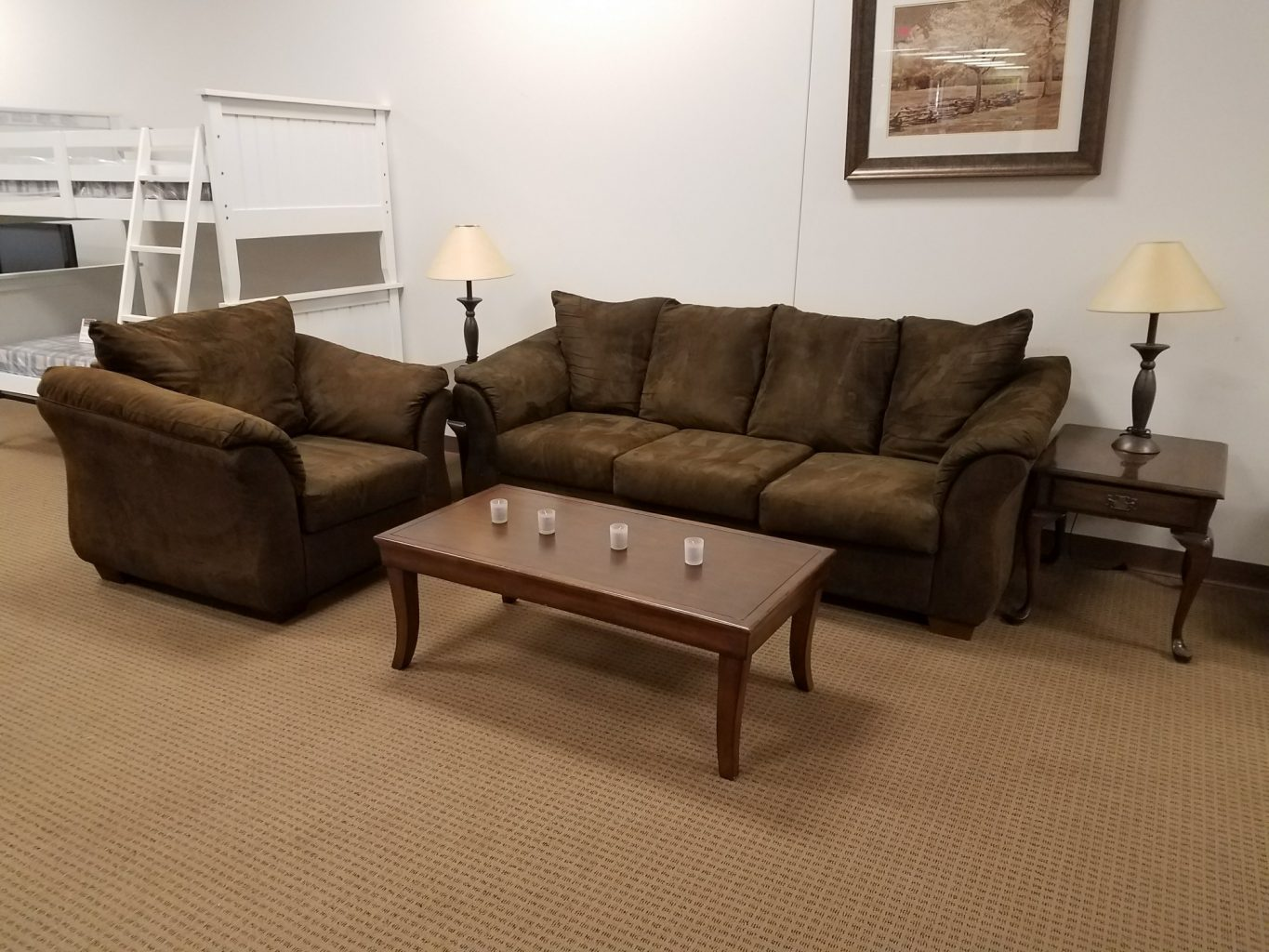 19 piece whole home furniture package Furniture in rental home