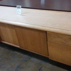 Credenza With Sliding Doors