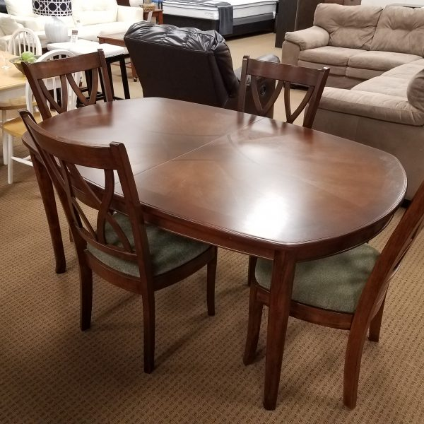 dining table and 4 chairs winslow