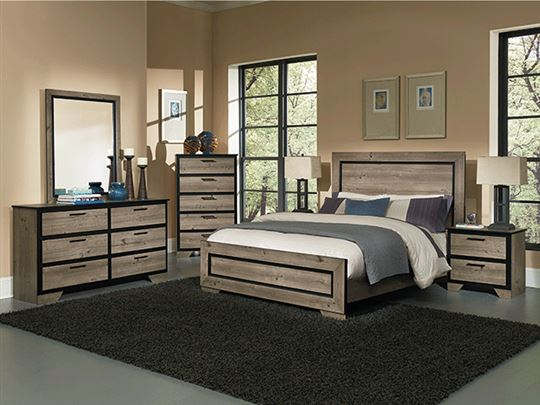 5 Piece Bedroom Set-Greyson by Perdue
