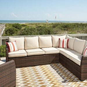 2-Piece Outdoor Sectional Set-Salceda by Ashley