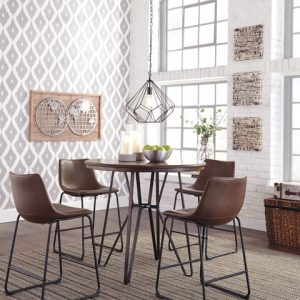 5 Piece Pub Height Dining Set Centiar by Ashley