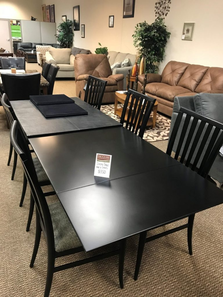 Dining Table And 6 Chairs Used
